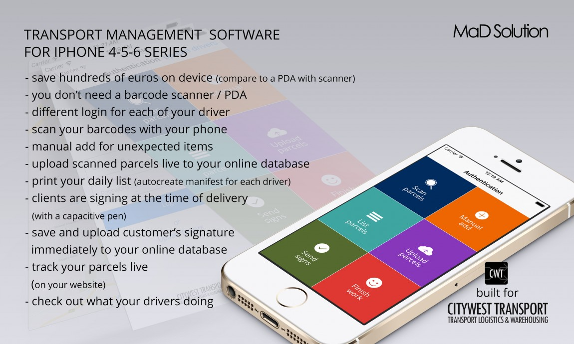 Citywest Transport Management Software