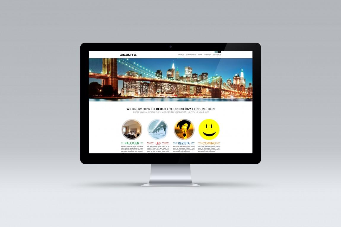 Asalite webdesign