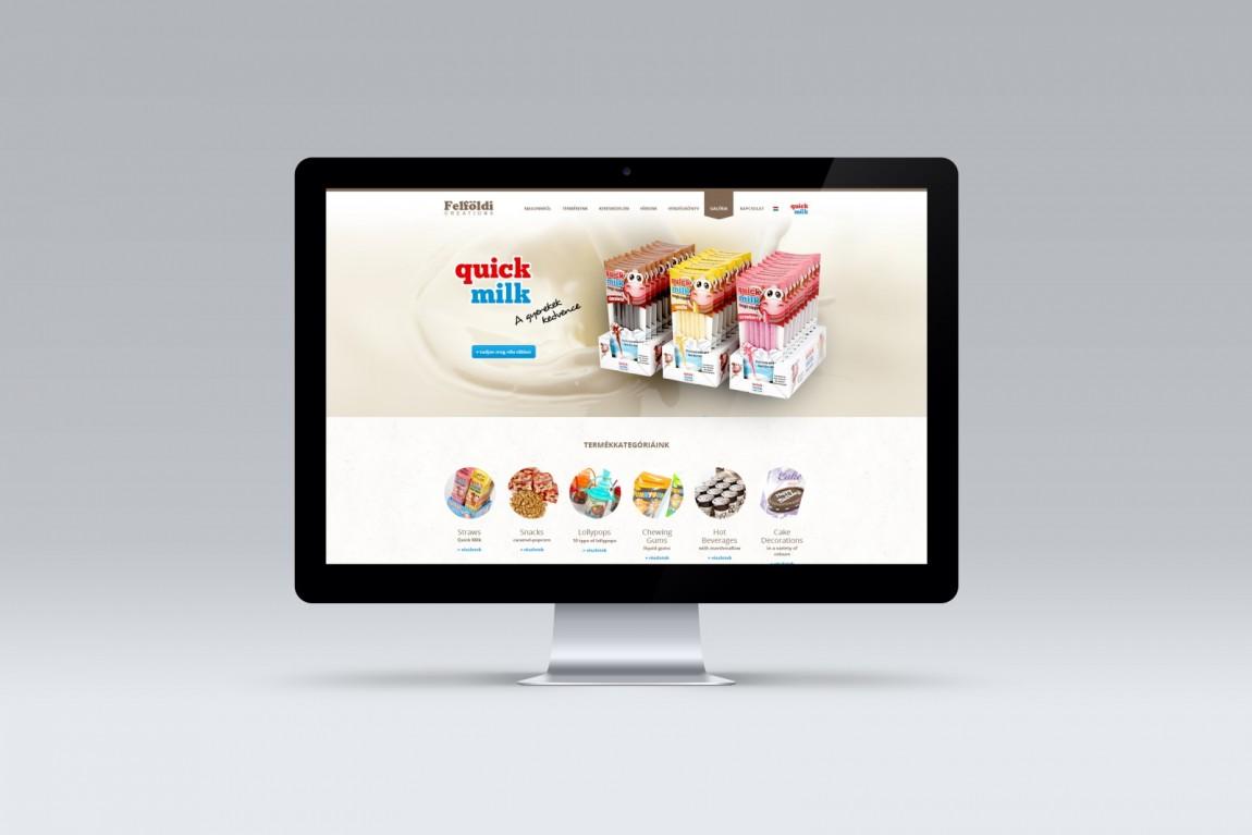Felfoldi webdesign