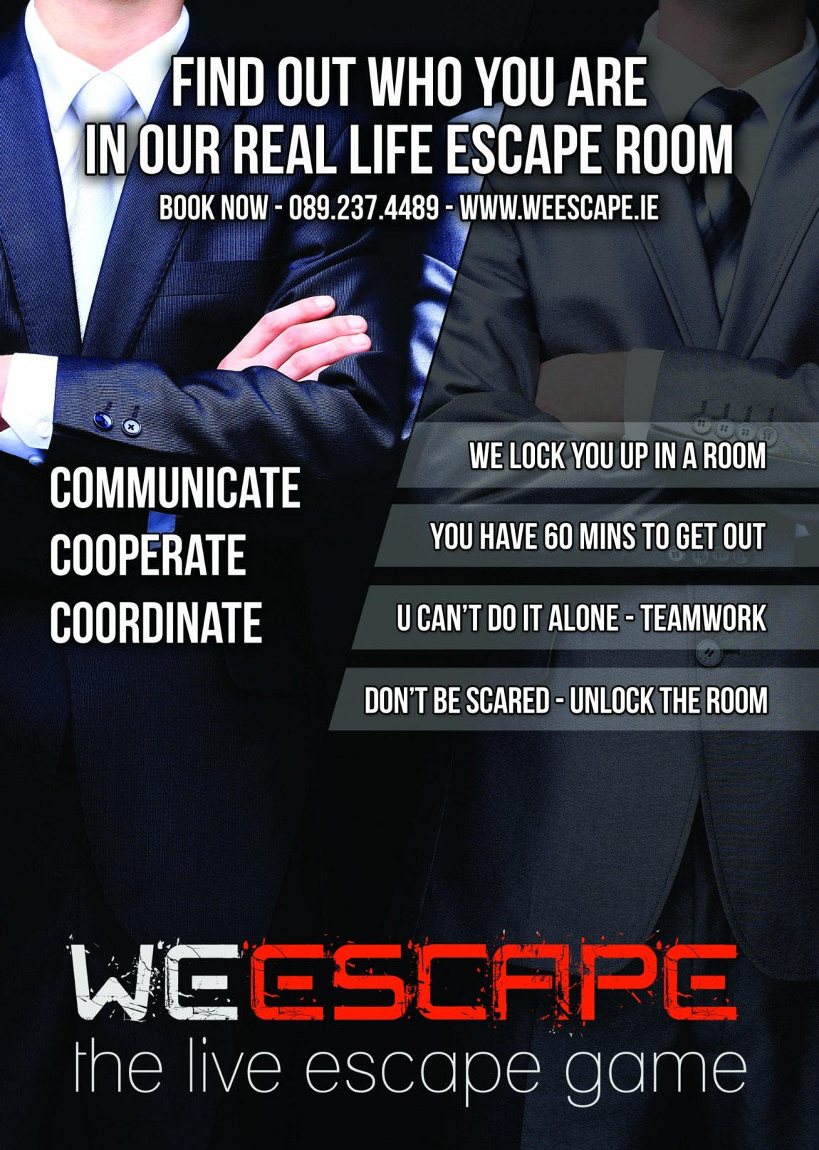 Weescape corporate poster