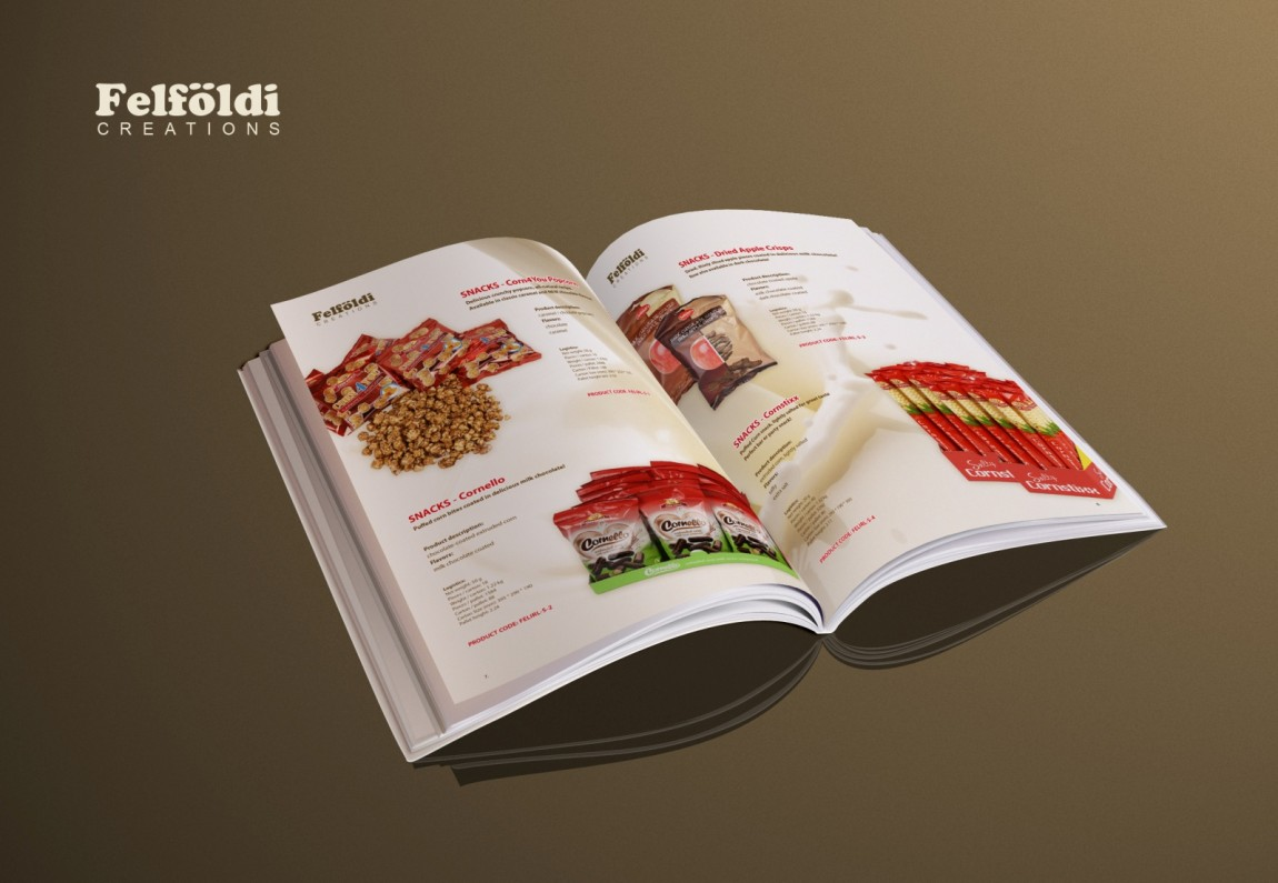 Felfoldi products catalog